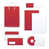 Korporacyjnej tożsamości szablony Zdjęcia Stock