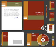 Korporacyjnej tożsamości zestaw Fotografia Stock