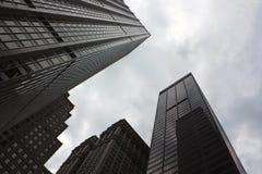 Korporacyjni budynki Obrazy Royalty Free