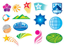 korporacyjni ustaleni symbole Royalty Ilustracja