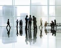 Korporacyjny Biznesowy spotkanie w budynku zdjęcia royalty free