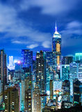 Korporacyjny budynek w Hong Kong zdjęcie royalty free