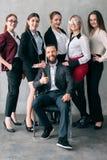 Korporacyjny drużynowy postępowy stażowy biznesu trener zdjęcie stock