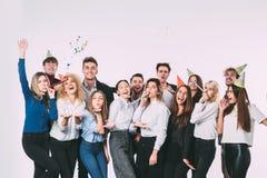 korporacyjny Grupa ludzi koledzy zabawa i uśmiech zdjęcia royalty free