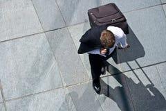korporacyjny kostiumowy kurtki bagażu mężczyzna zdjęcia royalty free