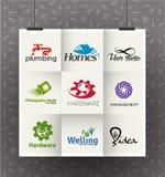 Korporacyjny loga projekt Obrazy Stock