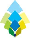 korporacyjny logo Zdjęcia Stock