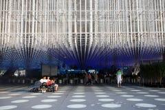 korporationsexpopaviljong 2010 shanghai Arkivbilder