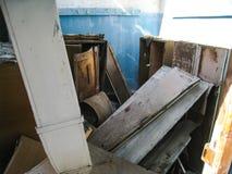 Korpsen en kelderverdiepingen dorm in Khamovniki stock foto's