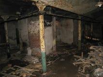 Korpsen en kelderverdiepingen dorm in Khamovniki royalty-vrije stock foto's