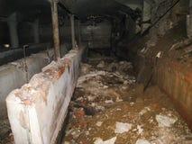 Korpsen en kelderverdiepingen dorm in Khamovniki stock afbeeldingen