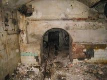 Korpsen en kelderverdiepingen dorm in Khamovniki stock foto