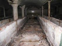 Korpsen en kelderverdiepingen dorm in Khamovniki stock fotografie