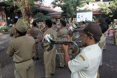 Korpsenmuziek stock foto's