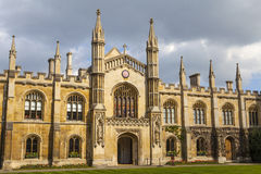 Korpus Christi College an der Universität von Cambridge Stockbild