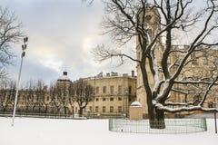 Korpusu Gatchina pałac Obrazy Royalty Free