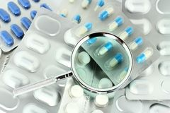 Korrekte Medizin Stockfotos