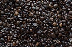 Korrel zwarte koffie Royalty-vrije Stock Afbeelding