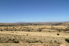 Korrelgebieden en landbouwbedrijven in Ethiopië royalty-vrije stock fotografie
