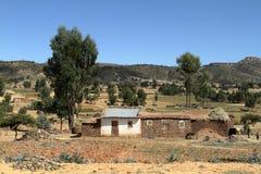 Korrelgebieden en landbouwbedrijven in Ethiopië stock fotografie