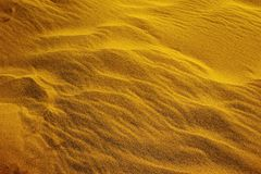 Korrelig Zand en Golvend Duin stock foto