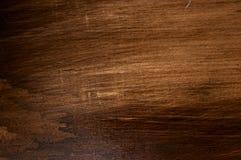 Korrelige donkere houten oppervlakte Stock Fotografie