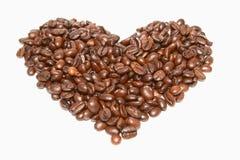 Korrels van koffie Royalty-vrije Stock Foto