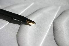 Korrespondenz Lizenzfreies Stockbild