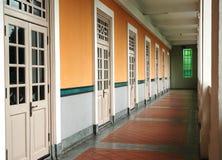 korridor royaltyfri foto