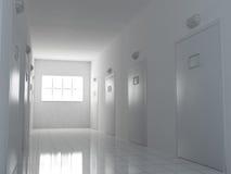 korridor royaltyfri illustrationer