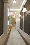 Korridor Stockbild