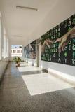 Korridor Art School San Alejandro Havana Royaltyfri Fotografi