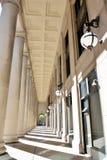 Korridor av den fackliga stationsinre, Chicago Arkivbild