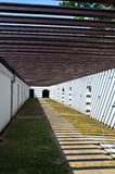 Korridor av det Chulachomklao fortet Royaltyfri Bild