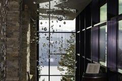 Korridor av kristaller Fotografering för Bildbyråer