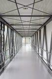 Korridor in einem modernen Krankenhaus Stockfotos
