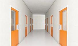 Korridor för arrestcell stock illustrationer
