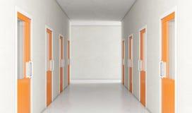 Korridor för arrestcell royaltyfri illustrationer