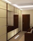 korridor för dörringångsframdel Fotografering för Bildbyråer