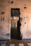 Korridor för fängelse S21 Arkivfoto