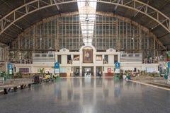 Korridor för Hua Lampong järnvägsstationströmförsörjning arkivfoton