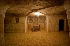 Korridor för Nain moskétunnelbana arkivfoton