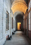 Korridor Gatchina-Palast stockbild