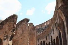 Korridor i Colosseum royaltyfria bilder
