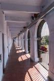 Korridor i en vinge av porten Blair Cellular Jail, arkivbilder