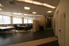Korridor i kontoret royaltyfri fotografi