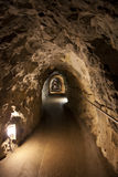 Korridor i rock Royaltyfria Bilder