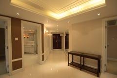 Korridor i utgångspunkt royaltyfri foto