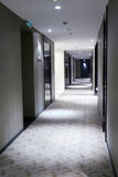 korridor long Arkivfoton