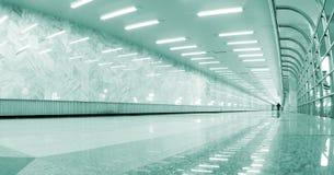 korridor long arkivbild
